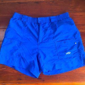 AFTCO athletic fishing cargo shorts sz 38